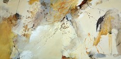 Autumn Warmth by Natasha Barnes - Original Painting on Box Canvas sized 72x35 inches. Available from Whitewall Galleries